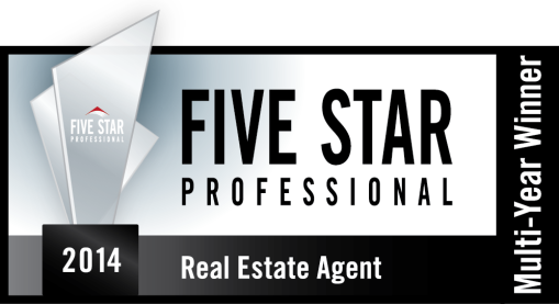 2014 Five Star Real Estate Agent Award