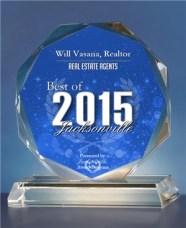 2015 Best of Jacksonville Award
