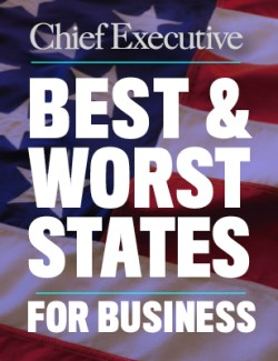 Chief Executive Best & Worst States for Business